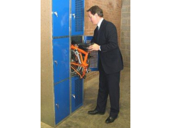 Folding Bike Locker