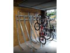 Semi Vertical Bike Rack | Large Volume Discounts Apply. Call for 1-2 Week Lead Time.