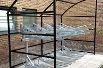 Two Tier Bike Shelters
