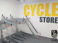 Two Tier Bike Rack - With Gas Strut (BDS)
