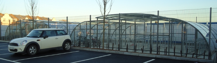 240 Bike Parking Spaces to Essex School
